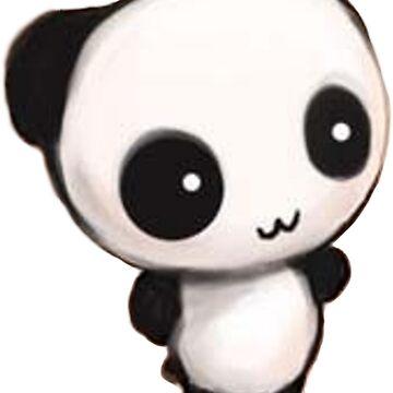 Pink Panda by irmachan