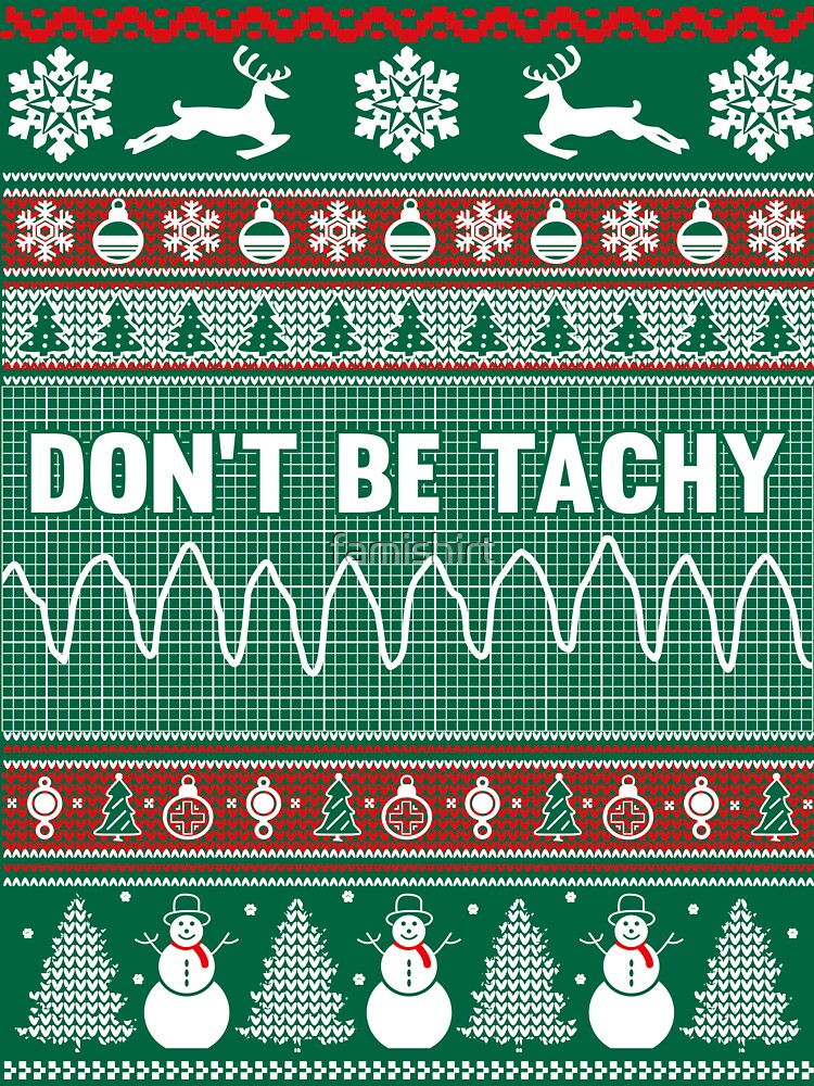 Nurse Christmas Sweater.Don T Be Tachy Nurse Ugly Christmas Sweater Women S T