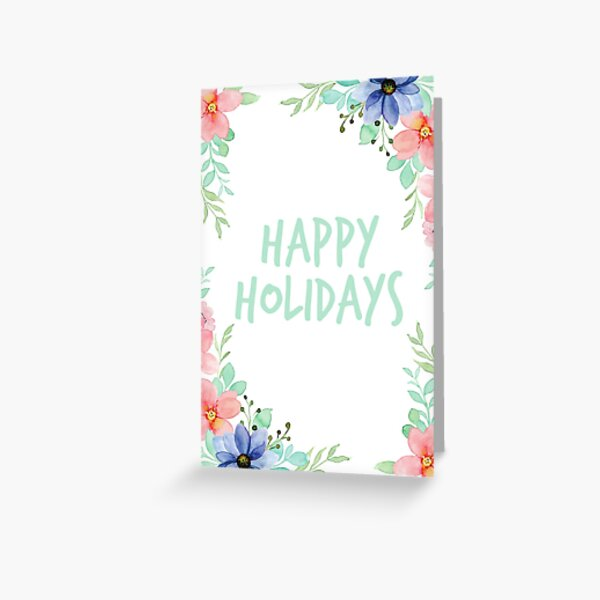 Flowery Card for Every Holiday Greeting Card