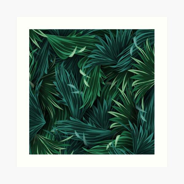 Forest Wild Plant  Art Print