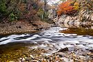 The River Garry at Killiecrankie, Perthshire Scotland by Cliff Williams