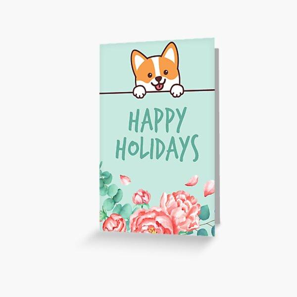 Cute Corgi Universal Card Greeting Card