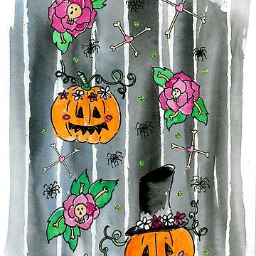 Florally Halloween de Elvedee