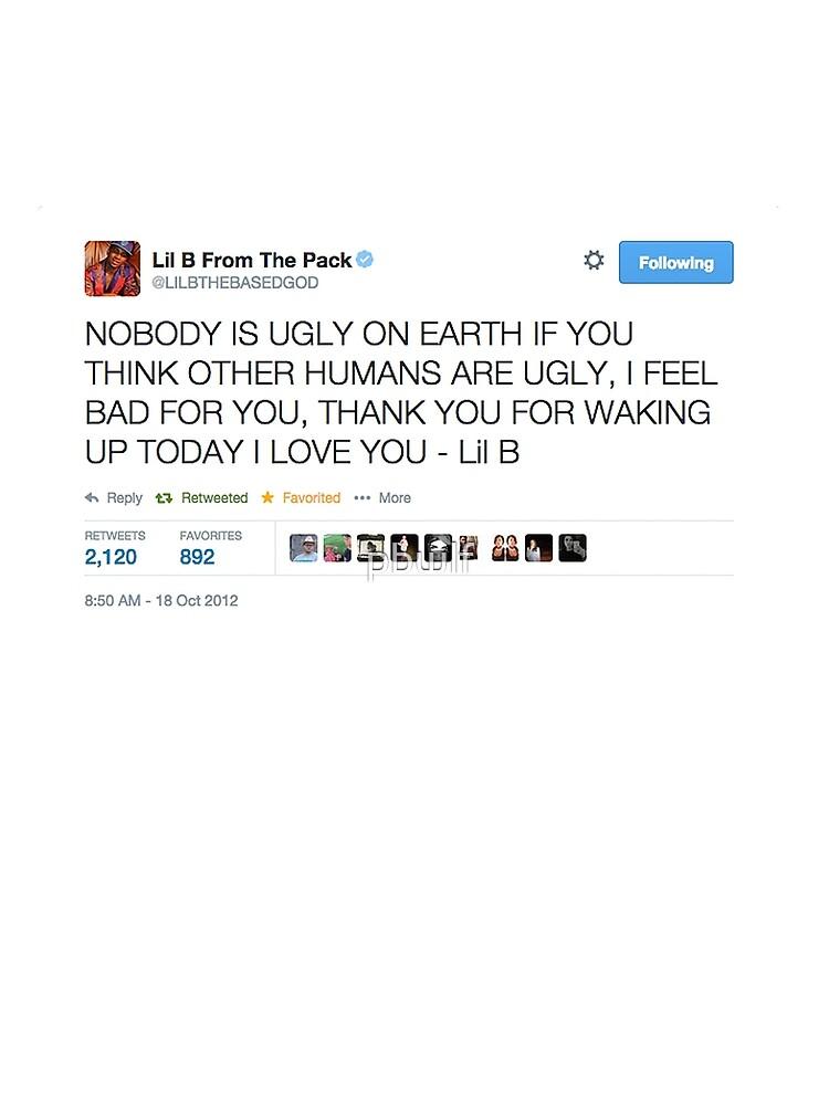Lil B 'The BasedGod' Tweet