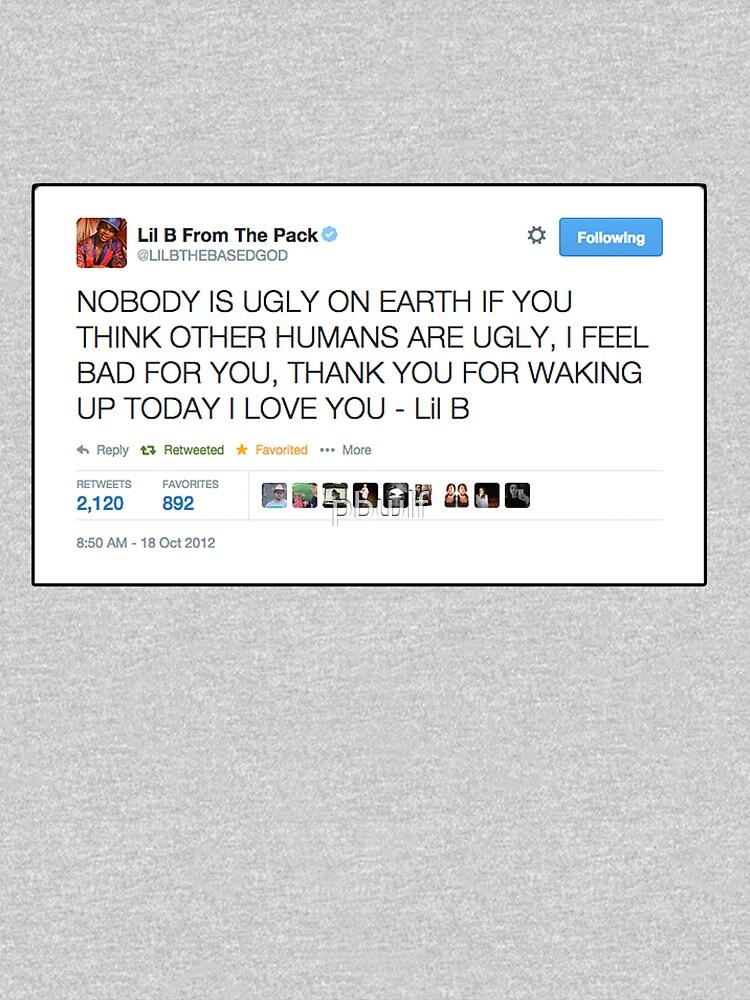 Lil B 'The BasedGod' Tweet | Women's Relaxed Fit T-Shirt