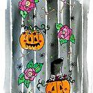 Florally Halloween by Elvedee