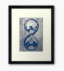 Sands of Timelord - alternate Framed Print