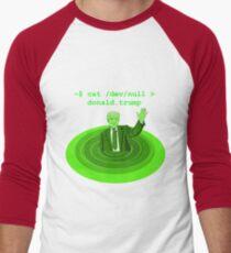cat /dev/null Donald Trump Men's Baseball ¾ T-Shirt