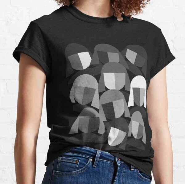 Faces Abstract Classic T-Shirt