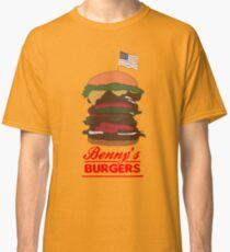 Camiseta clásica Hamburguesa de Benny