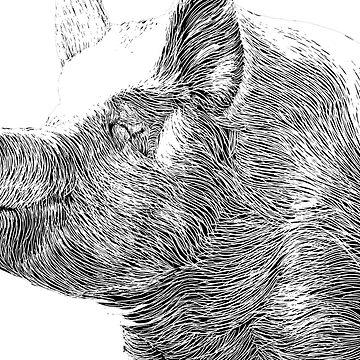 Pigs in Zen by joenerdyart