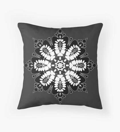 Batik Mandala 2014 Throw Pillow