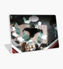 Aqua Chairs Laptop Skin