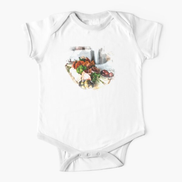 Elegant Gatherings  Short Sleeve Baby One-Piece