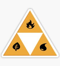 Triforce pokemon types Sticker