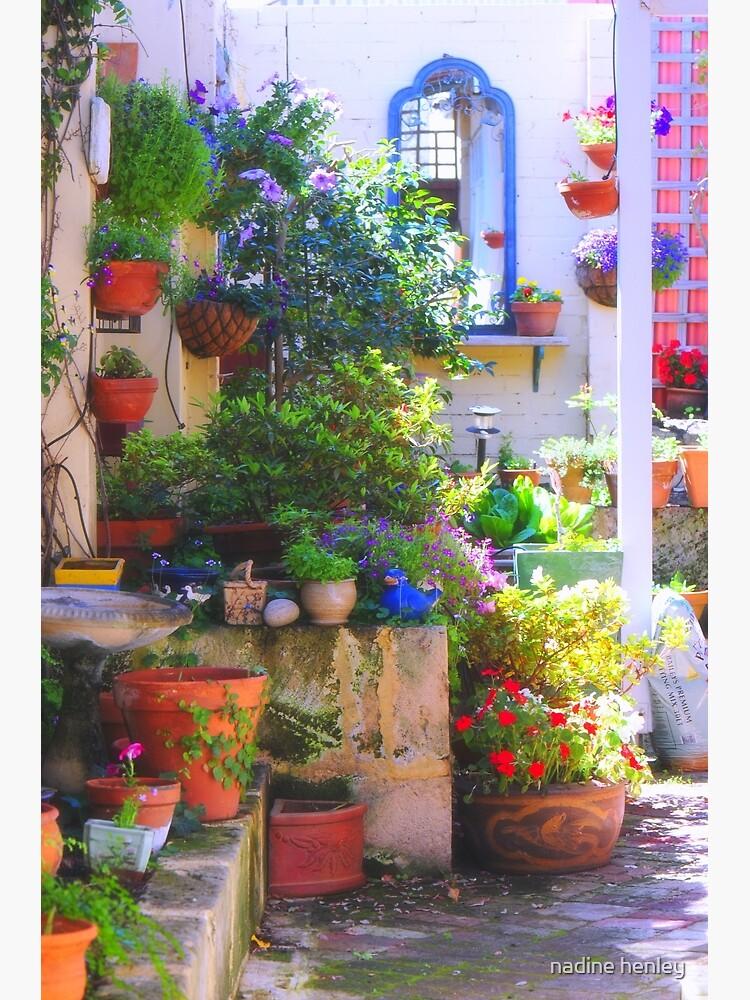 friends' garden by nhenley