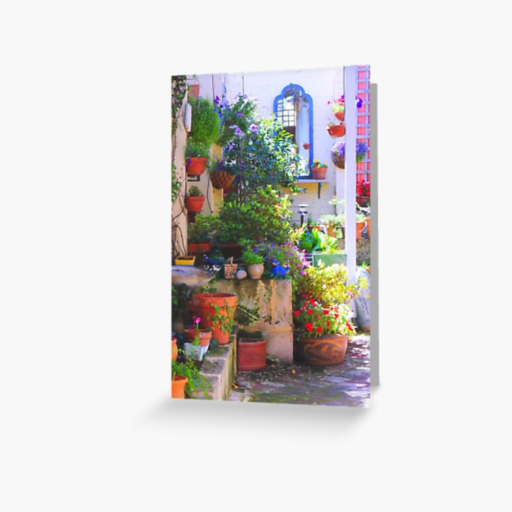 friends' garden Greeting Card