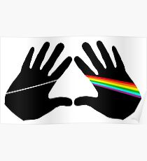 Dark side hands Poster