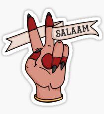 Salaam Sticker