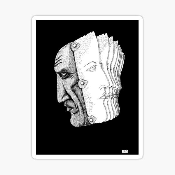 Pablo Picasso portrait  Sticker
