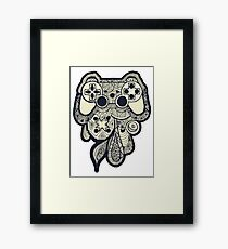 Games Console Framed Print