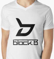 Block B Men's V-Neck T-Shirt