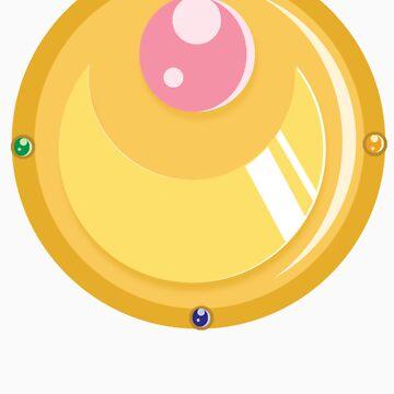 Sailor Moon: Prism Brooch  by boundbyribbon