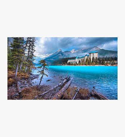 Dreamy Chateau Lake Louise Photographic Print