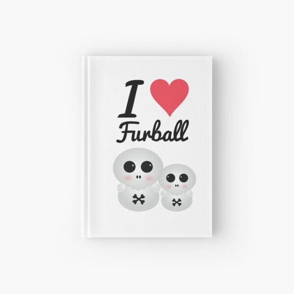 "Furball - ""I love Dread"" Collection Hardcover Journal"