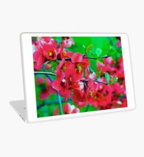 Dry Brush Flowers Laptop Skin