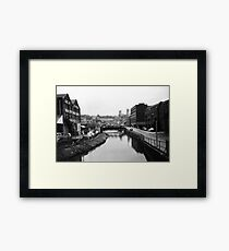 Lincoln in the 1980s - near the University Framed Print