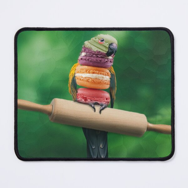 Macaron as light as a feather Mouse Pad