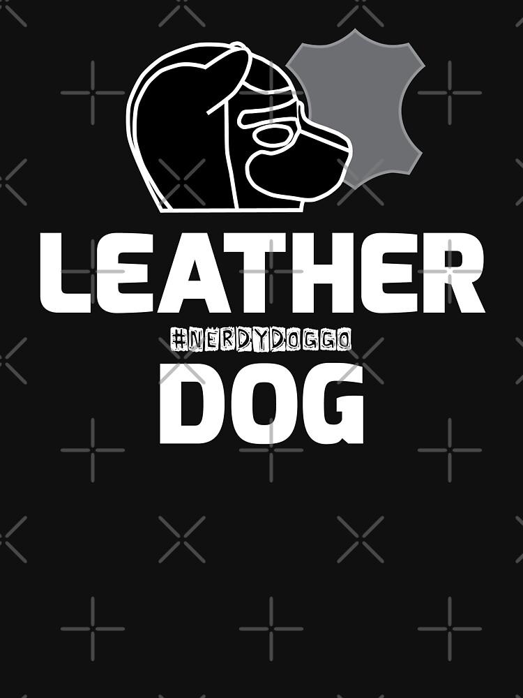 Nerdy Doggo Leather Dog by NerdyDoggo