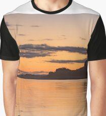 Sunset near Portnacroish, Loch Linhe, Scotland Graphic T-Shirt