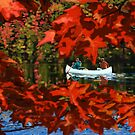 Scenic Fall canoeing  by SFDesignstudio