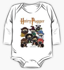 Hairy Pugger One Piece - Long Sleeve