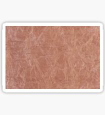 Brown canvas cloth texture abstract Sticker