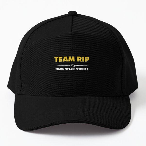 Team Rip Train Station Tours Yellowstone   Baseball Cap