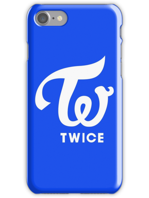 Quot Twice Logo Blue Cheer Up Quot Iphone Cases Amp Skins By Aprilio