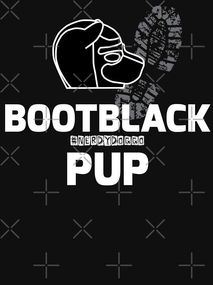 Nerdy Doggo Bootblack Pup by NerdyDoggo