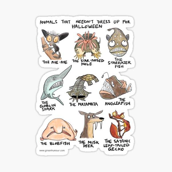 Halloween animals Sticker