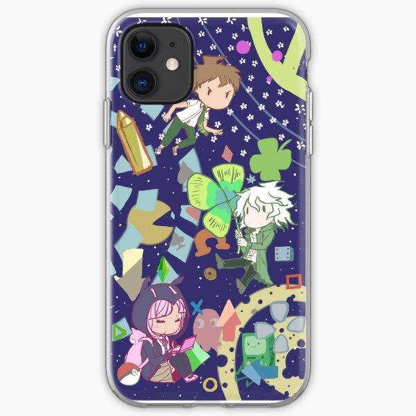 Dangan ronpa chibi phone case iPhone Soft Case