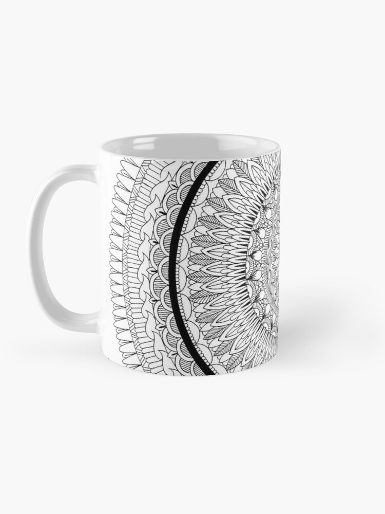 Alternate view of Synergy Mandala - SimmyGhatt Mug