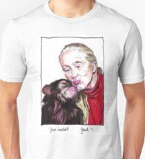 Jane Goodall - Chimp Kissies T-Shirt