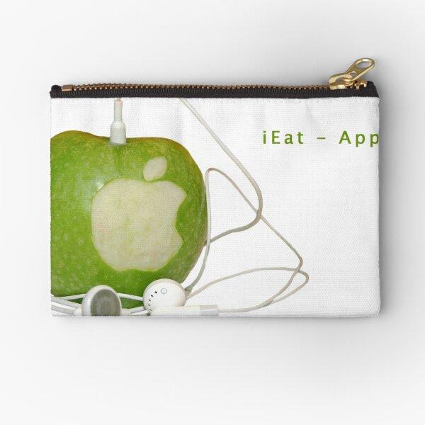 iEat - Apple Zipper Pouch