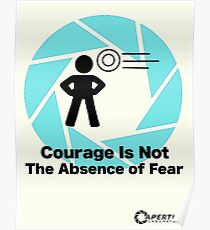 Portal: Courage Poster