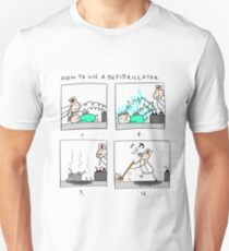 How To Use a Defibrillator T-Shirt