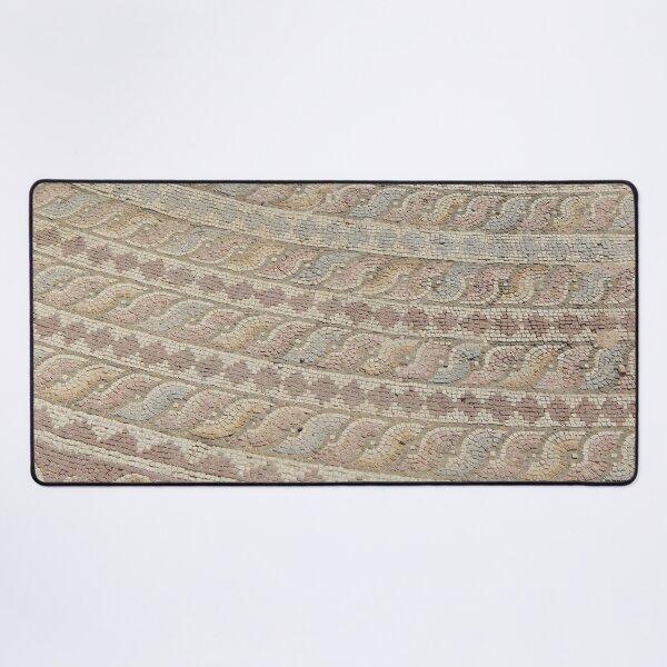 Roman mosaic at Kato Paphos, Cyprus Desk Mat