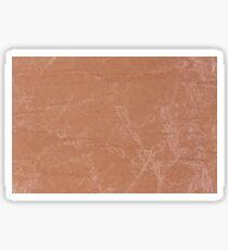 Beige canvas cloth texture  Sticker