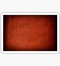 Brown puckered leather material Sticker
